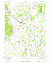 Download a high-resolution, GPS-compatible USGS topo map for Emmitsburg, MD (1975 edition)