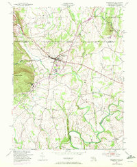 Download a high-resolution, GPS-compatible USGS topo map for Emmitsburg, MD (1972 edition)