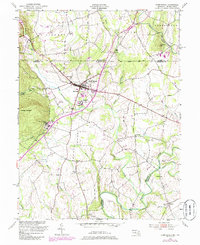 Download a high-resolution, GPS-compatible USGS topo map for Emmitsburg, MD (1985 edition)