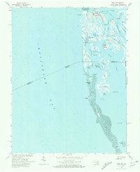 Download a high-resolution, GPS-compatible USGS topo map for Ewell, MD (1972 edition)