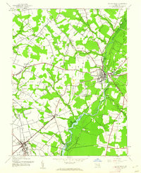 Download a high-resolution, GPS-compatible USGS topo map for Federalsburg, MD (1962 edition)