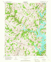 Download a high-resolution, GPS-compatible USGS topo map for Finksburg, MD (1967 edition)