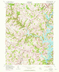 Download a high-resolution, GPS-compatible USGS topo map for Finksburg, MD (1971 edition)