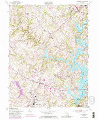 Download a high-resolution, GPS-compatible USGS topo map for Finksburg, MD (1989 edition)