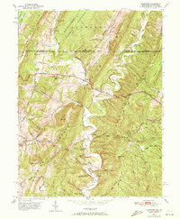 Download a high-resolution, GPS-compatible USGS topo map for Flintstone, MD (1972 edition)