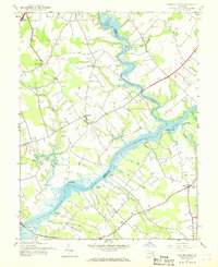 Download a high-resolution, GPS-compatible USGS topo map for Fowling Creek, MD (1968 edition)