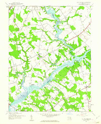 Download a high-resolution, GPS-compatible USGS topo map for Fowling Creek, MD (1962 edition)