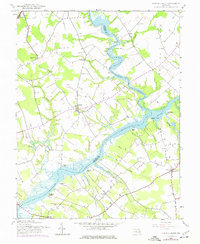 Download a high-resolution, GPS-compatible USGS topo map for Fowling Creek, MD (1976 edition)