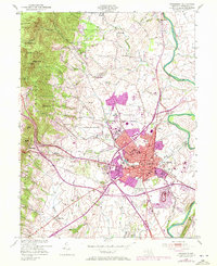 Download a high-resolution, GPS-compatible USGS topo map for Frederick, MD (1972 edition)