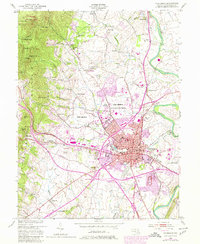 Download a high-resolution, GPS-compatible USGS topo map for Frederick, MD (1980 edition)