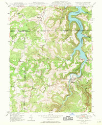 Download a high-resolution, GPS-compatible USGS topo map for Friendsville, MD (1971 edition)