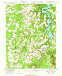 Download a high-resolution, GPS-compatible USGS topo map for Friendsville, MD (1965 edition)