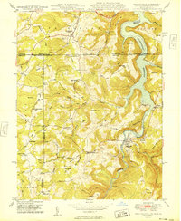 Download a high-resolution, GPS-compatible USGS topo map for Friendsville, MD (1949 edition)