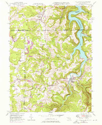 Download a high-resolution, GPS-compatible USGS topo map for Friendsville, MD (1975 edition)