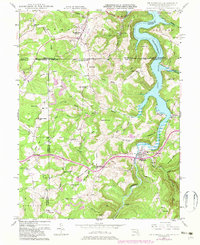 Download a high-resolution, GPS-compatible USGS topo map for Friendsville, MD (1982 edition)