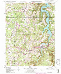 Download a high-resolution, GPS-compatible USGS topo map for Friendsville, MD (1998 edition)