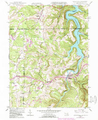 Download a high-resolution, GPS-compatible USGS topo map for Friendsville, MD (1989 edition)