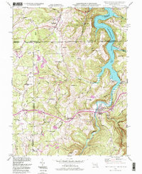 Download a high-resolution, GPS-compatible USGS topo map for Friendsville, MD (1999 edition)