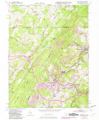 Download a high-resolution, GPS-compatible USGS topo map for Frostburg, MD (1982 edition)