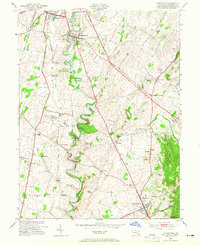 Download a high-resolution, GPS-compatible USGS topo map for Funkstown, MD (1965 edition)