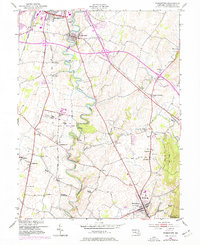 Download a high-resolution, GPS-compatible USGS topo map for Funkstown, MD (1977 edition)