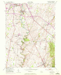 Download a high-resolution, GPS-compatible USGS topo map for Funkstown, MD (1972 edition)