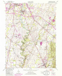 Download a high-resolution, GPS-compatible USGS topo map for Funkstown, MD (1986 edition)