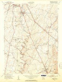 Download a high-resolution, GPS-compatible USGS topo map for Funkstown, MD (1954 edition)