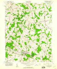 Download a high-resolution, GPS-compatible USGS topo map for Gaithersburg, MD (1960 edition)