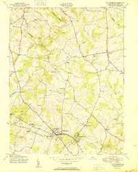 Download a high-resolution, GPS-compatible USGS topo map for Gaithersburg, MD (1950 edition)
