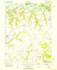 Download a high-resolution, GPS-compatible USGS topo map for Galena, MD (1955 edition)