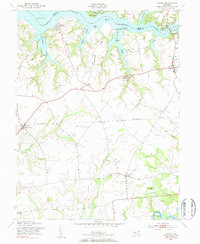 Download a high-resolution, GPS-compatible USGS topo map for Galena, MD (1983 edition)