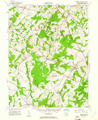Download a high-resolution, GPS-compatible USGS topo map for Germantown, MD (1961 edition)