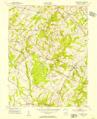 Download a high-resolution, GPS-compatible USGS topo map for Germantown, MD (1954 edition)