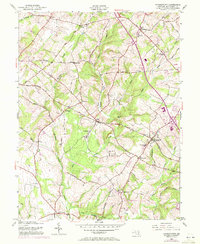 Download a high-resolution, GPS-compatible USGS topo map for Germantown, MD (1972 edition)