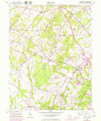 Download a high-resolution, GPS-compatible USGS topo map for Germantown, MD (1979 edition)