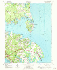 Download a high-resolution, GPS-compatible USGS topo map for Gibson Island, MD (1969 edition)
