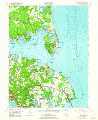 Download a high-resolution, GPS-compatible USGS topo map for Gibson Island, MD (1964 edition)