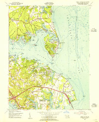 Download a high-resolution, GPS-compatible USGS topo map for Gibson Island, MD (1955 edition)