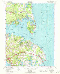 Download a high-resolution, GPS-compatible USGS topo map for Gibson Island, MD (1971 edition)