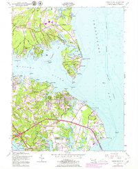 Download a high-resolution, GPS-compatible USGS topo map for Gibson Island, MD (1979 edition)