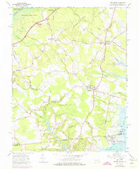 Download a high-resolution, GPS-compatible USGS topo map for Girdletree, MD (1974 edition)