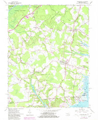 Download a high-resolution, GPS-compatible USGS topo map for Girdletree, MD (1980 edition)