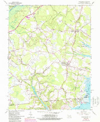 Download a high-resolution, GPS-compatible USGS topo map for Girdletree, MD (1988 edition)