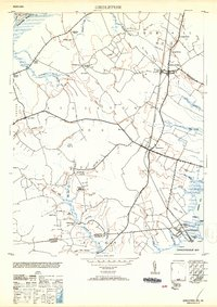 Download a high-resolution, GPS-compatible USGS topo map for Girdletree, MD (1953 edition)
