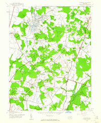 Download a high-resolution, GPS-compatible USGS topo map for Goldsboro, MD (1961 edition)