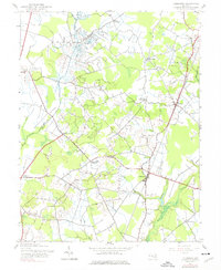 Download a high-resolution, GPS-compatible USGS topo map for Goldsboro, MD (1976 edition)