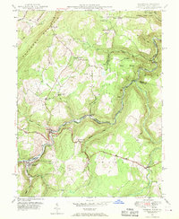 Download a high-resolution, GPS-compatible USGS topo map for Gorman, MD (1970 edition)