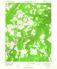 Download a high-resolution, GPS-compatible USGS topo map for Gorman, MD (1965 edition)