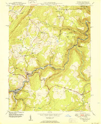 Download a high-resolution, GPS-compatible USGS topo map for Gorman, MD (1950 edition)